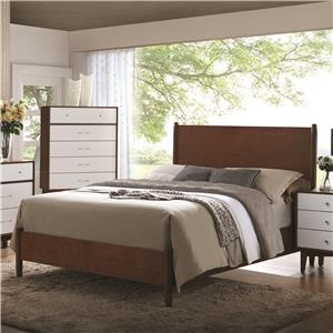 Coaster Oakwood Queen Bed