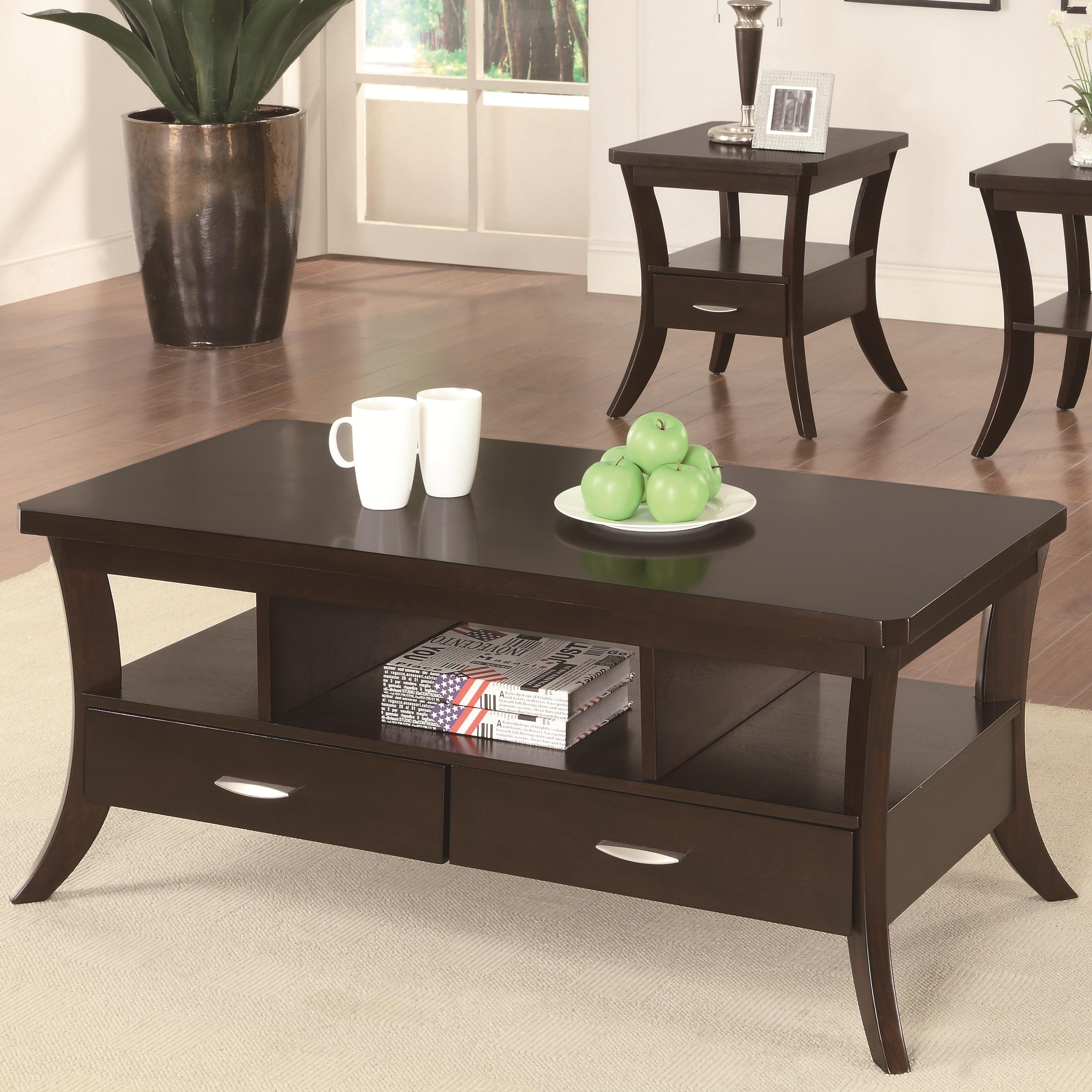 Coaster Occasional Group Coffee Table - Item Number: 702508