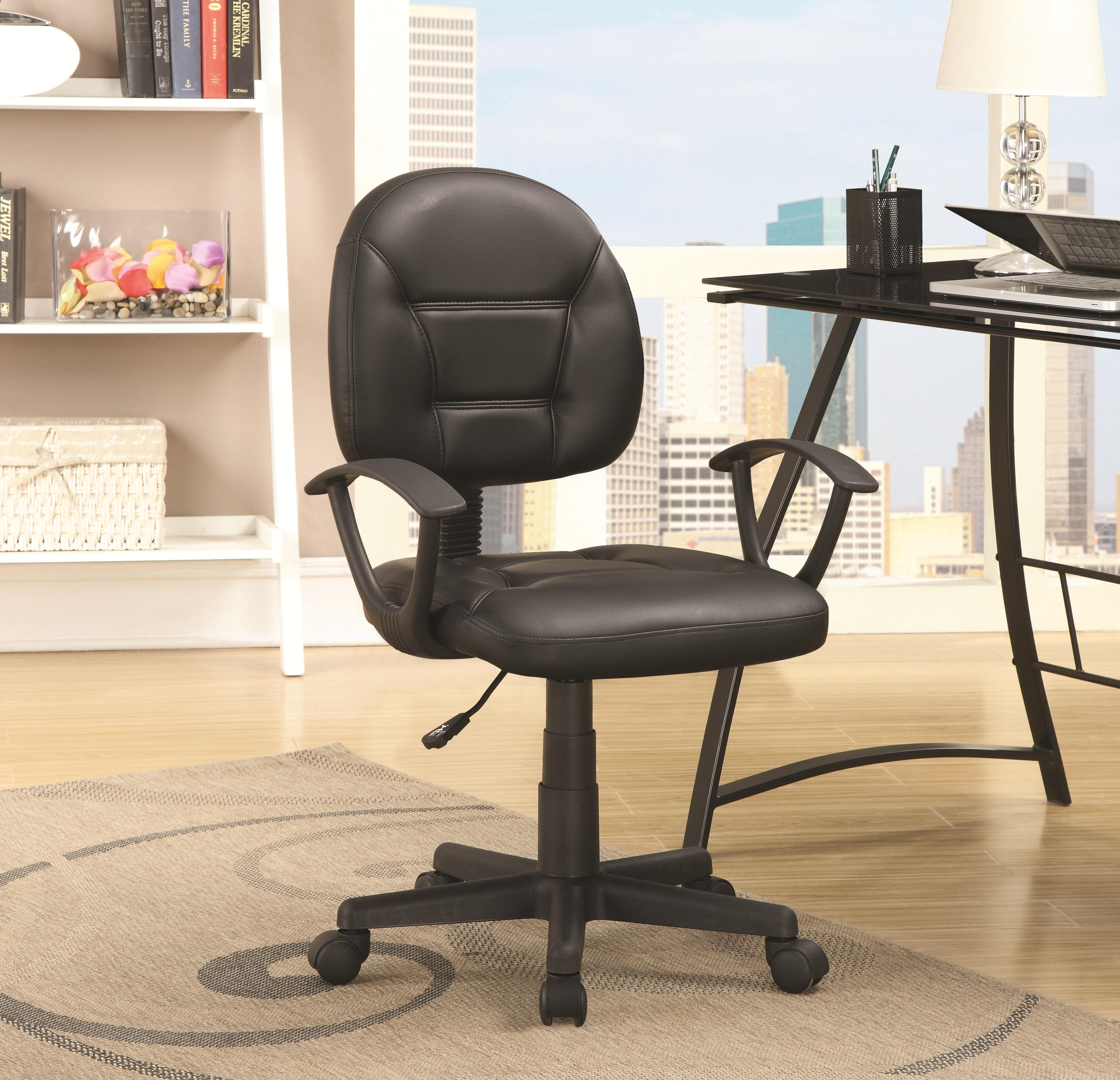 Coaster Office Chairs 800178 Black Office Chair
