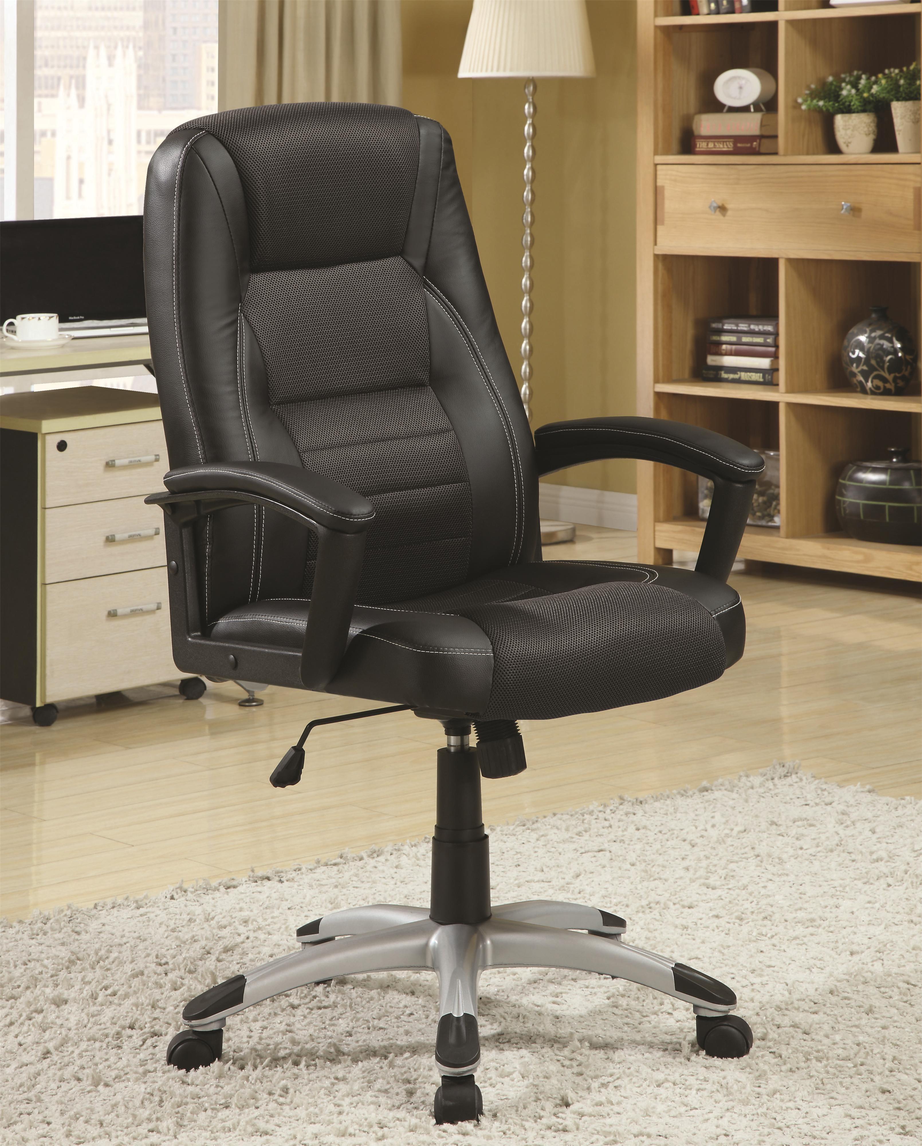 coaster office chairs 800209 executive office chair with adjustable