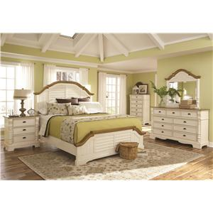 Coaster Oleta California King Bedroom Group