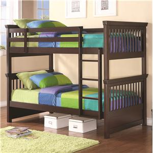 Coaster Oliver Twin Bunk Bed