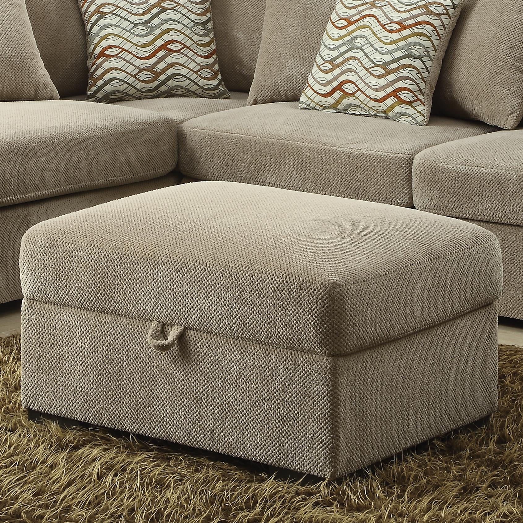 Coaster Olson Storage Ottoman - Item Number: 500085