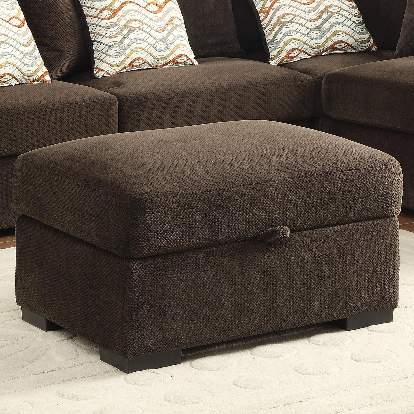 Coaster Olson Storage Ottoman - Item Number: 500146