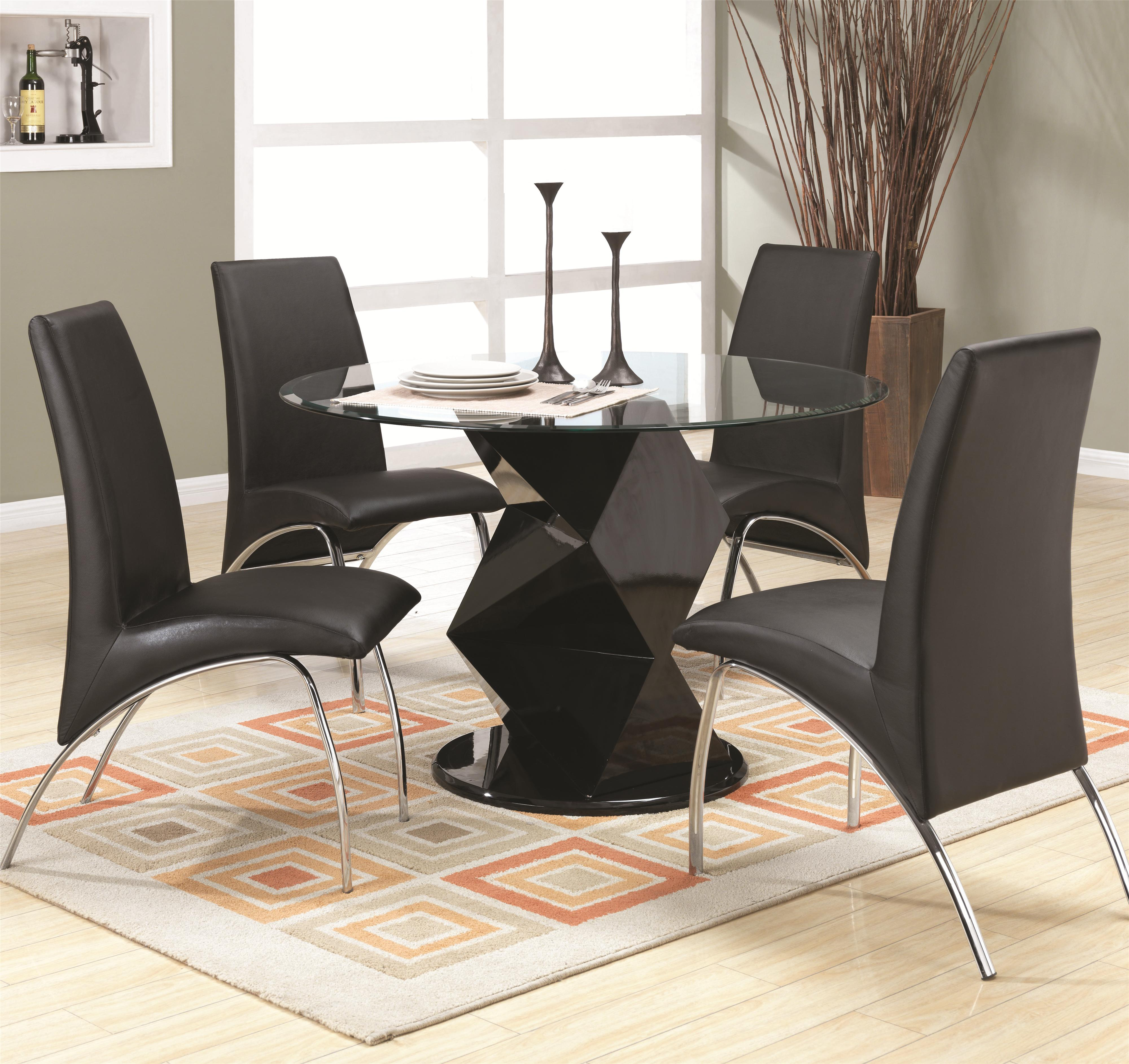 Coaster Ophelia Dining Set - Item Number: 120800+4x120802