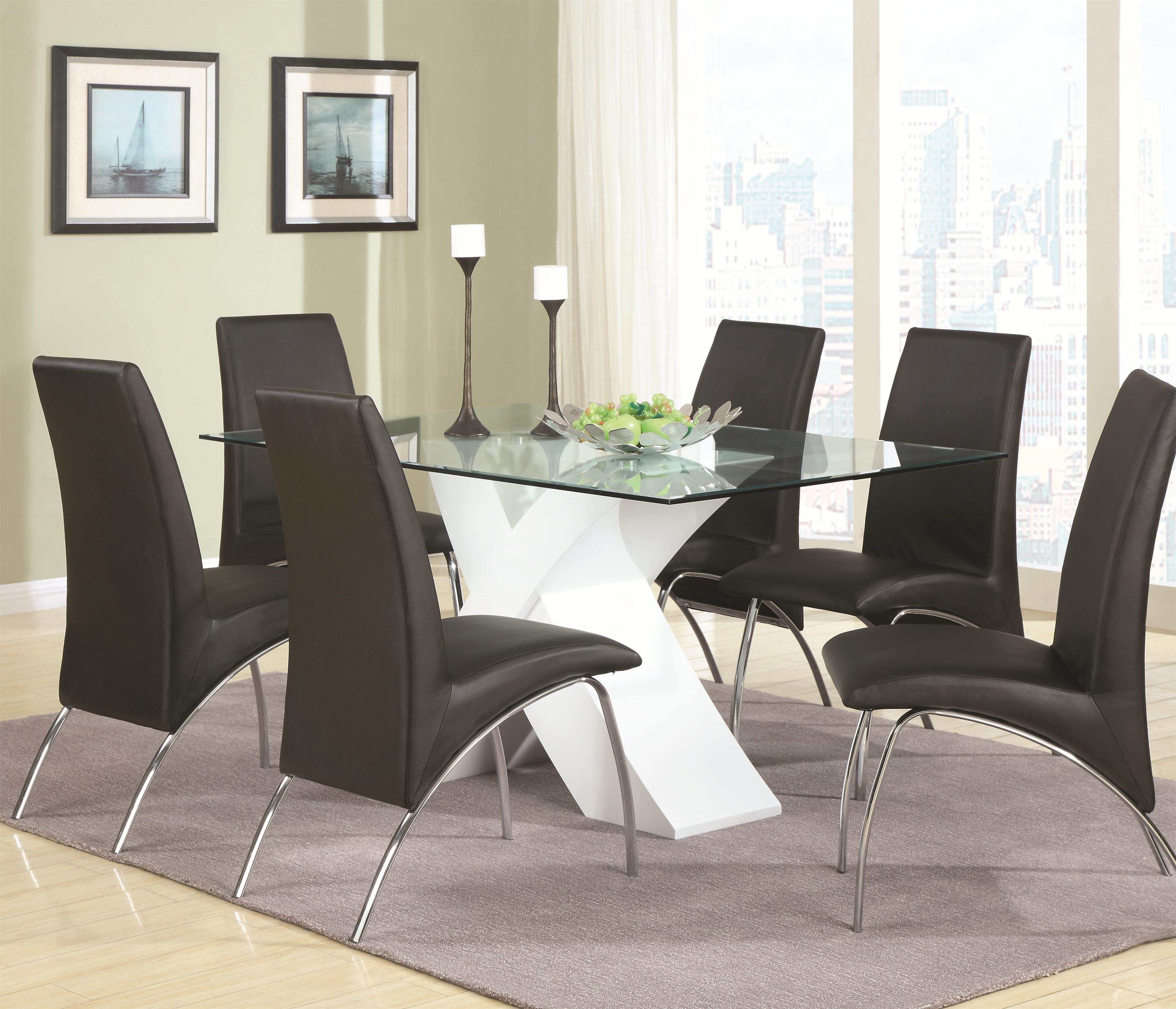 Coaster Ophelia Dining Set  - Item Number: 120821+6x02