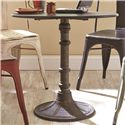 Coaster Oswego Round Dining Table Set with Side Chairs