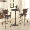 Coaster Oswego Pub Table Set - Item Number: 100064+2x100159