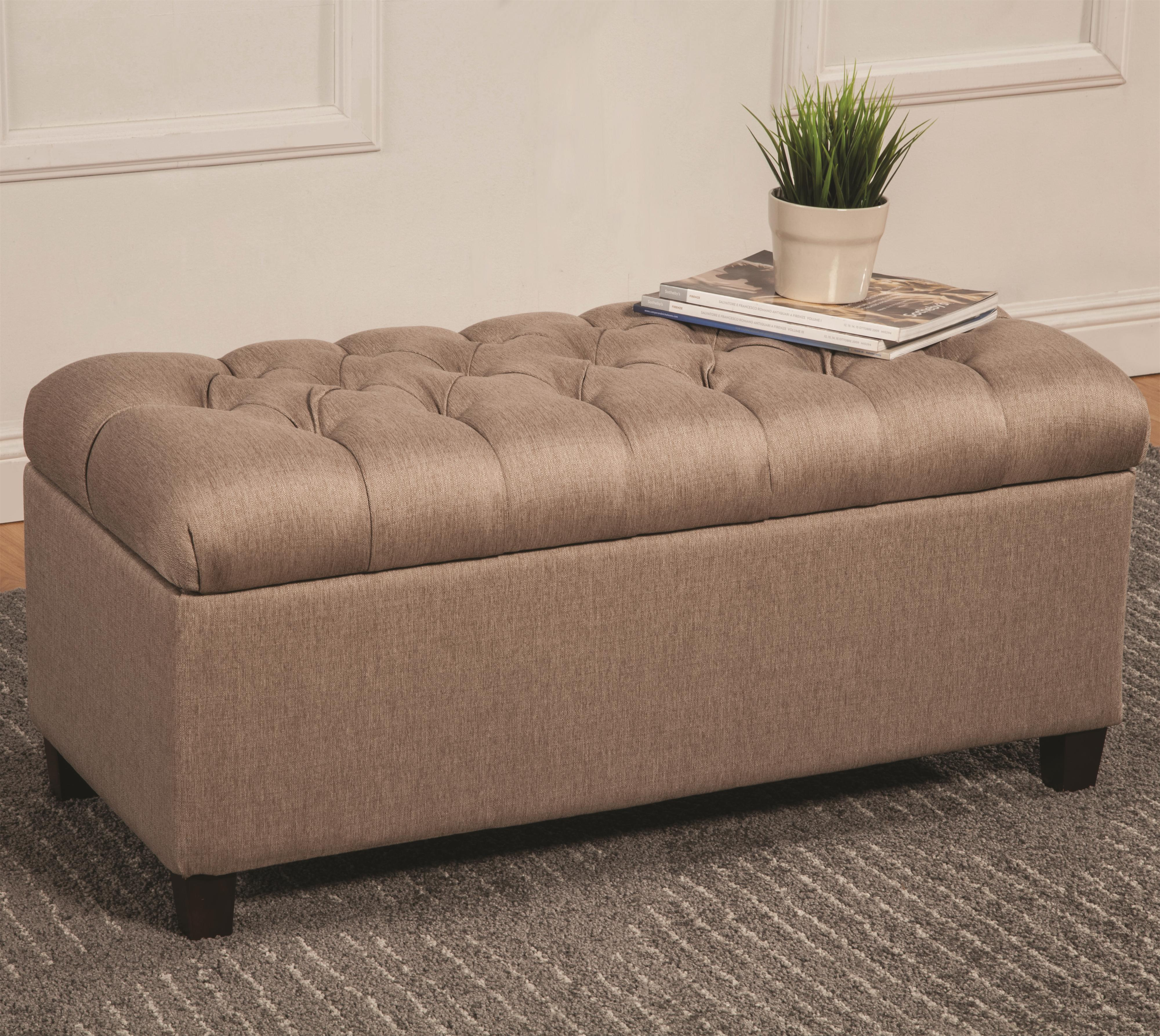 Coaster Ottomans Storage Bench - Item Number: 500064