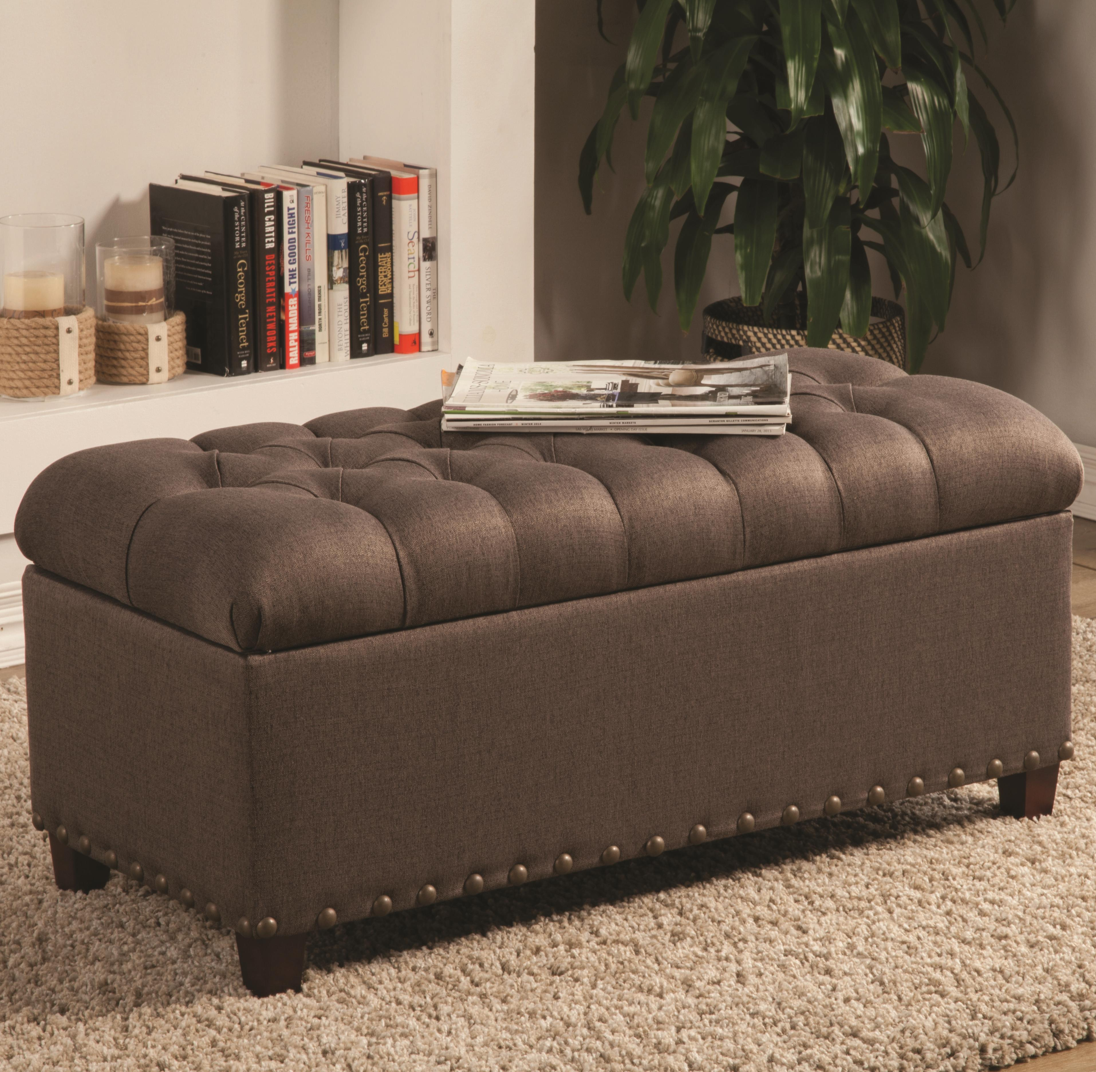 Coaster Ottomans Storage Bench - Item Number: 500065