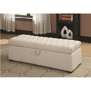 Coaster Ottomans Storage Ottoman