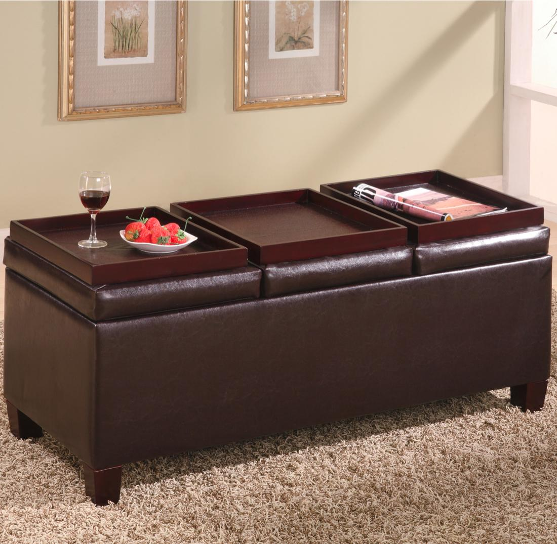 Coaster Ottomans Storage Ottoman - Item Number: 501036