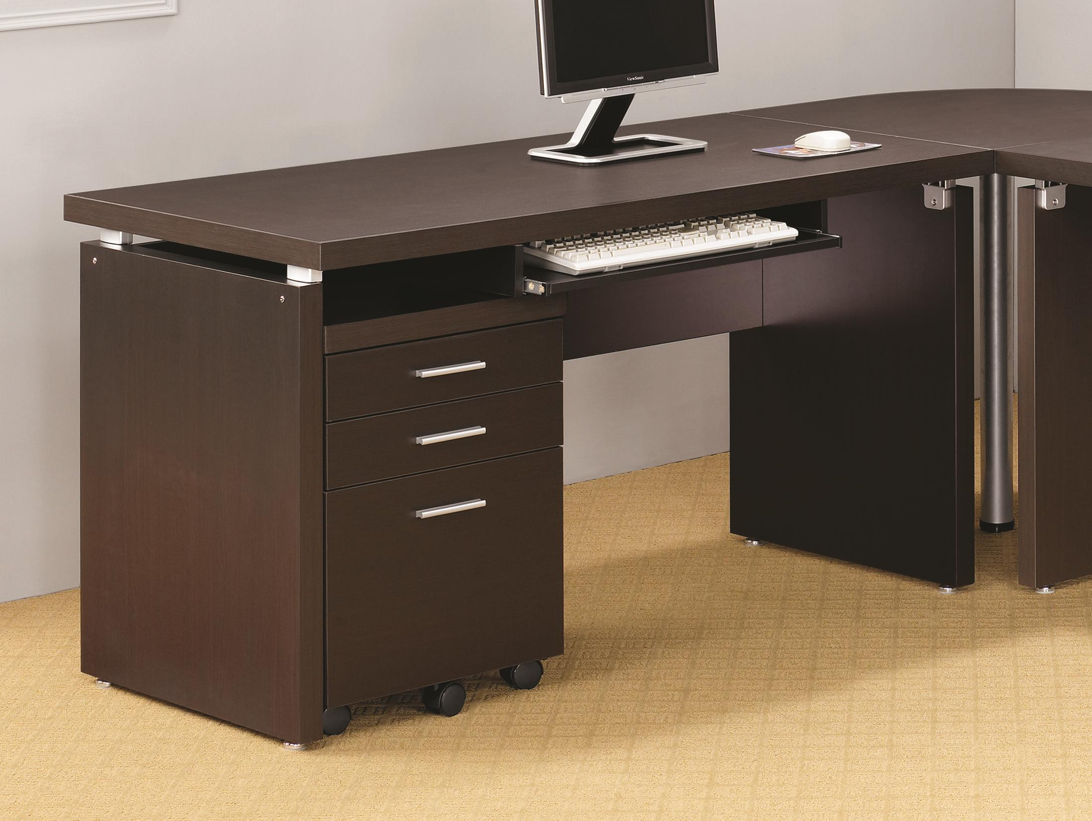 Coaster Skylar Computer Desk With Drop Down Drawer Value