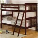 Coaster Parker Twin Bunk Bed