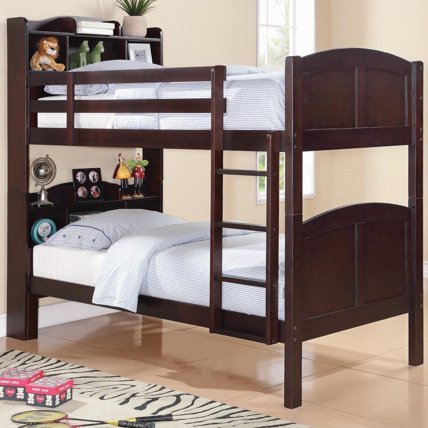 Coaster Parker Bookcase Bunk Bed - Item Number: 460442