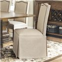 Coaster Parkins Parson Chair with Skirt - 103713
