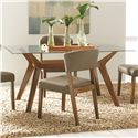 Coaster Paxton 12218 5 Piece Rectangular Dining Table Set with Side Chairs