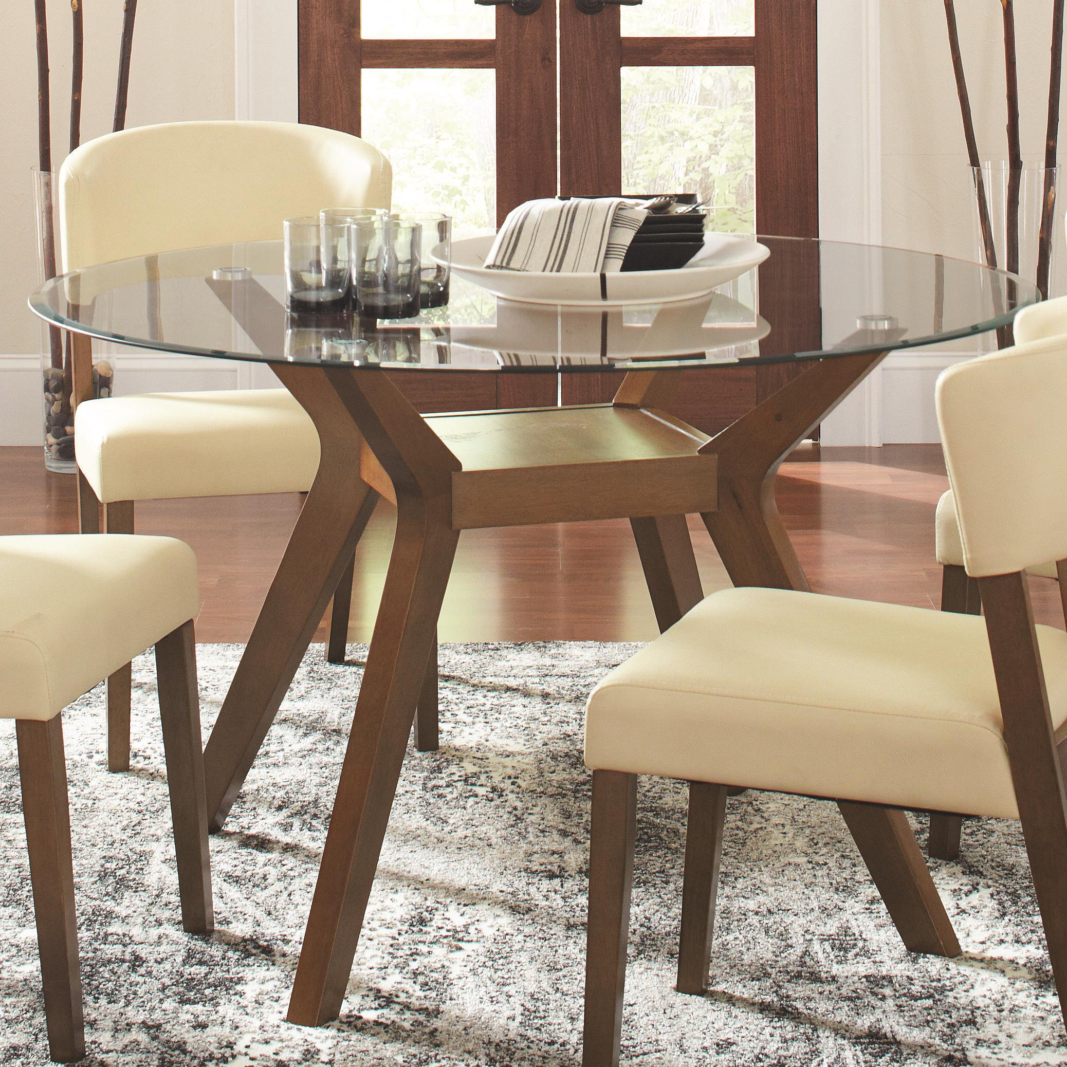 Coaster Paxton 12218 Dining Table - Item Number: 122180+CB48RD