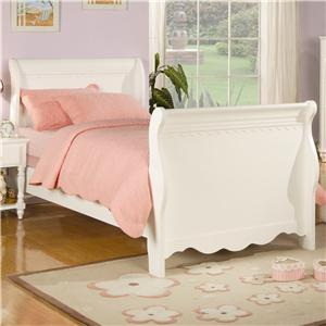 Coaster Pepper  Twin Sleigh Bed
