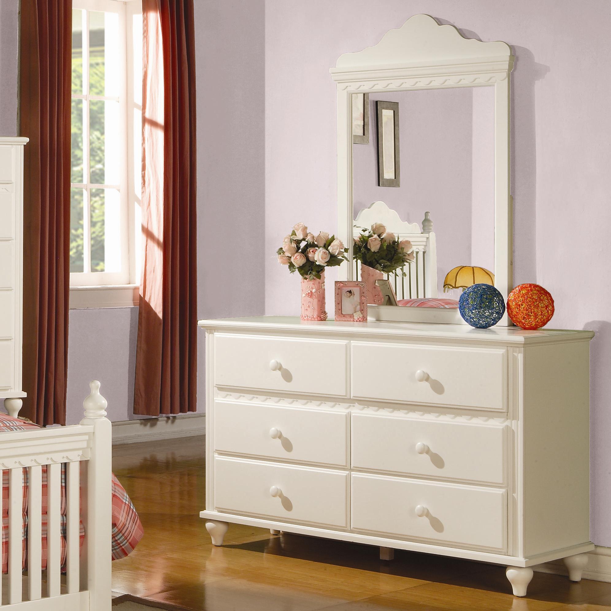 Coaster Pepper  Dresser and Mirror - Item Number: 400363+364