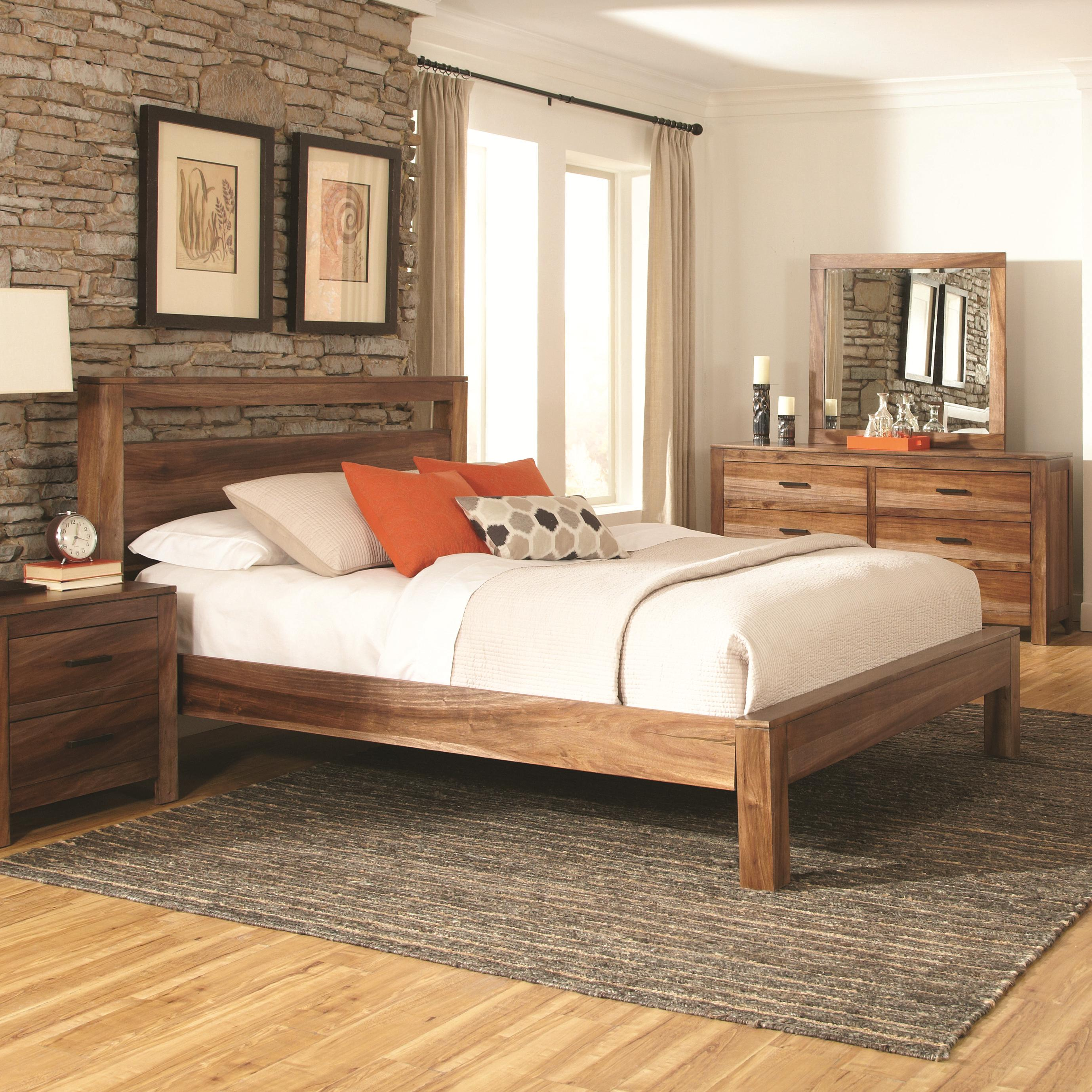 Coaster Peyton California King Platform Bed - Item Number: 203651KW