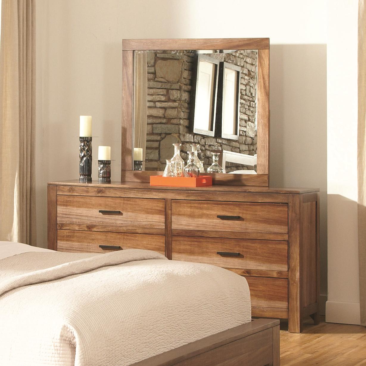 Coaster Peyton Dresser and Mirror Set - Item Number: 203653+4