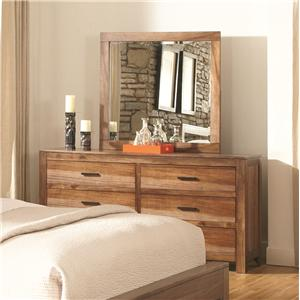 Coaster Peyton Dresser and Mirror Set
