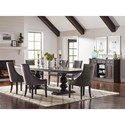 Coaster Phelps Transitional Server with 2 Doors and 3 Drawers
