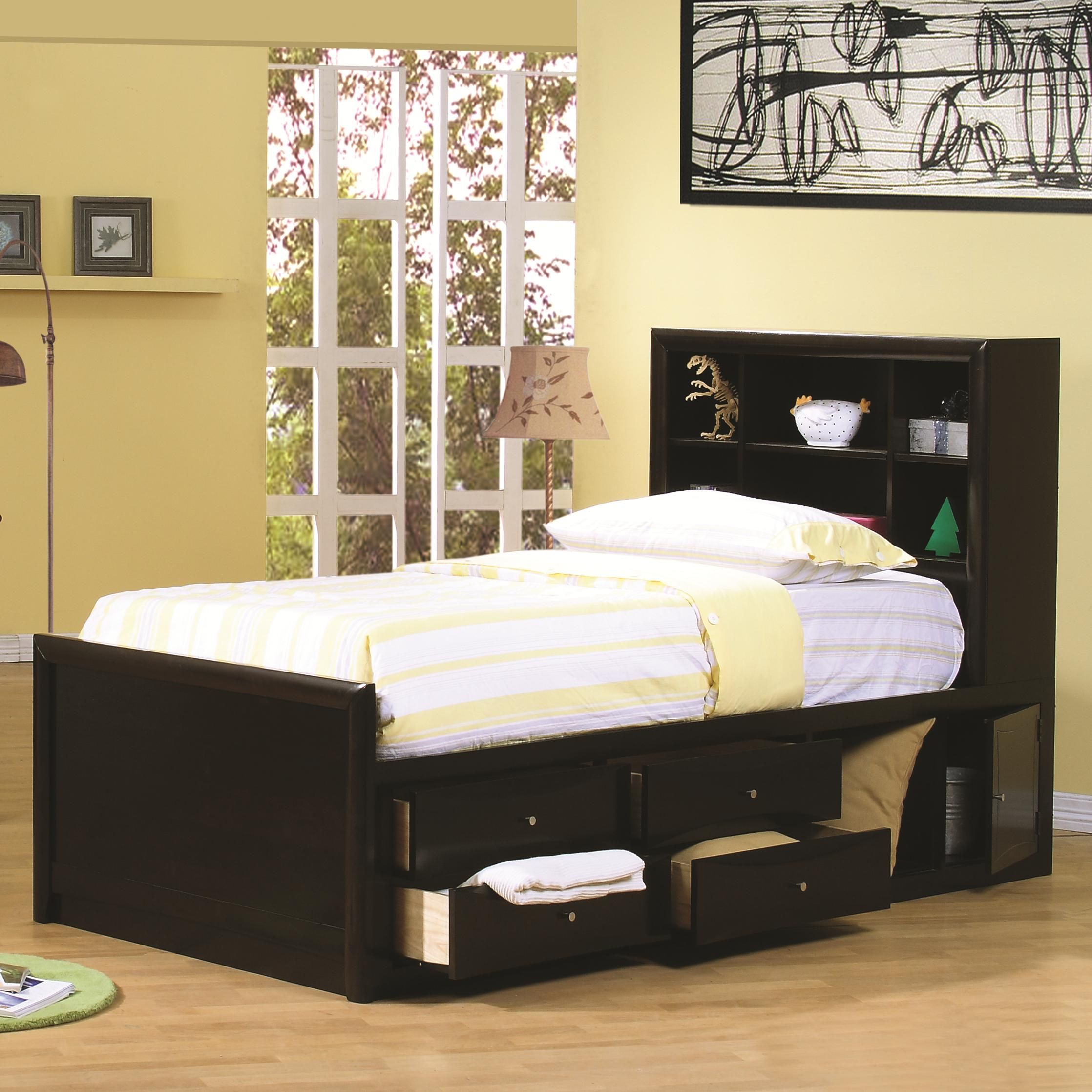 Coaster Phoenix Twin Chest Bed - Item Number: 400180T