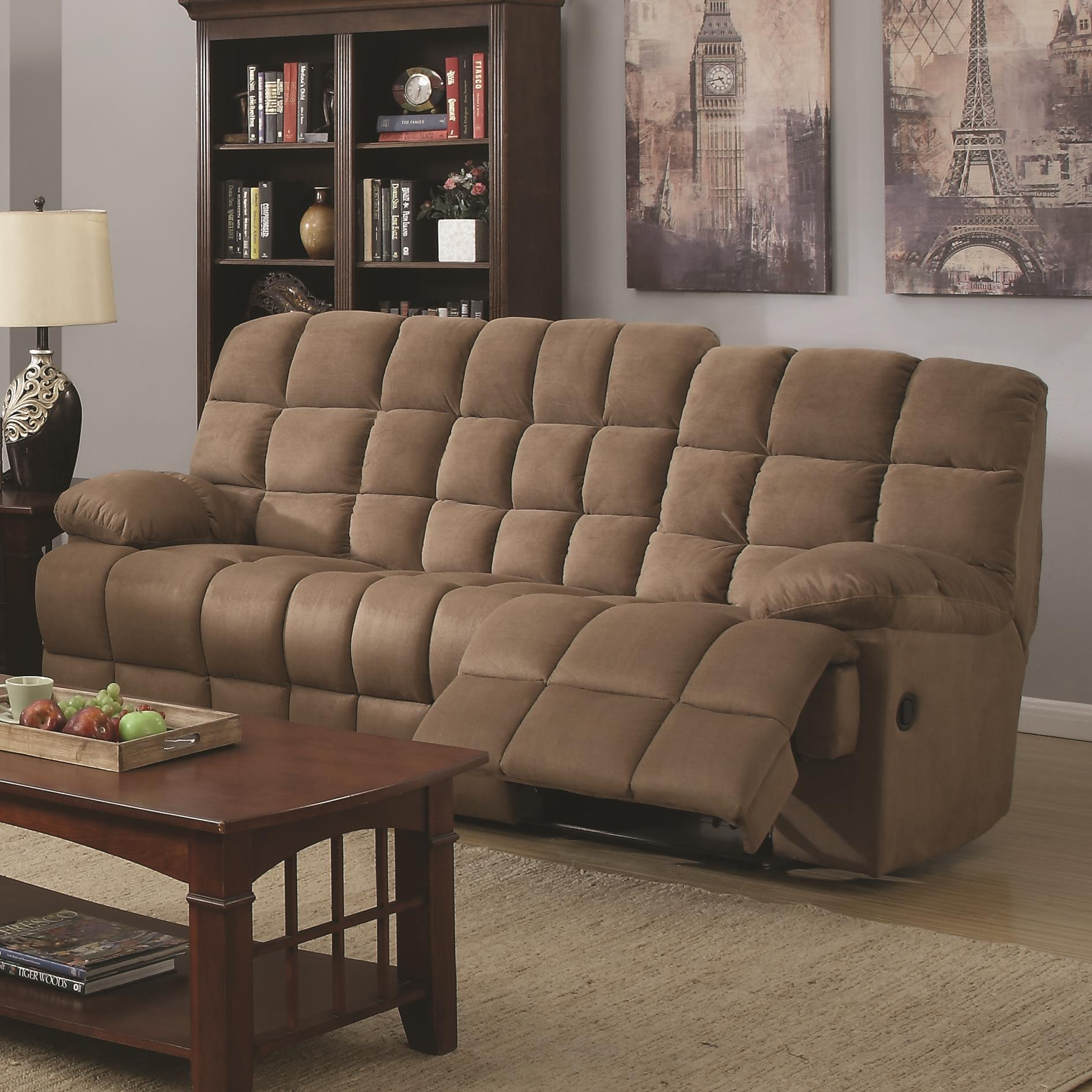 Coaster Pickett Motion Sofa - Item Number: 601941