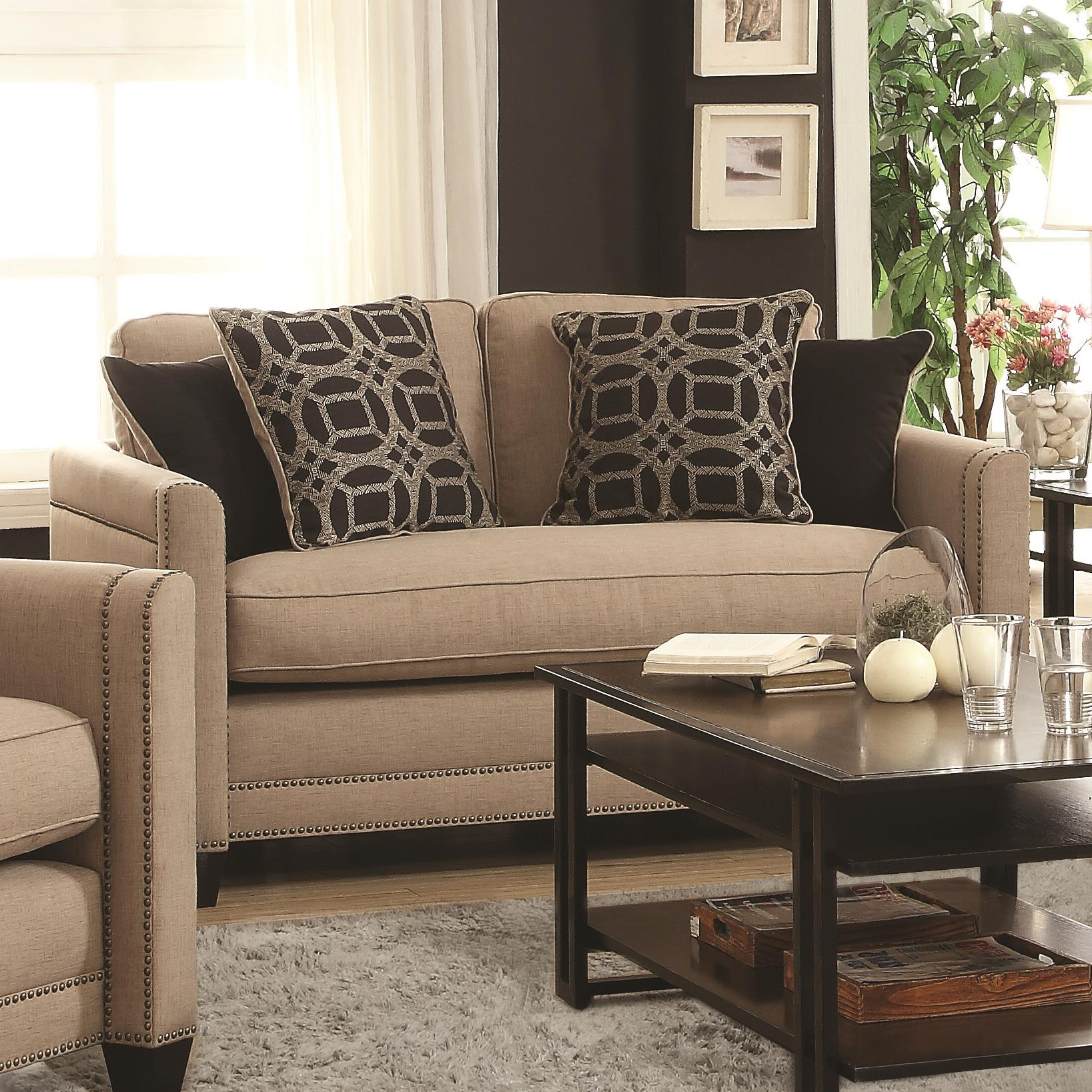 Coaster Pratten Loveseat - Item Number: 505782