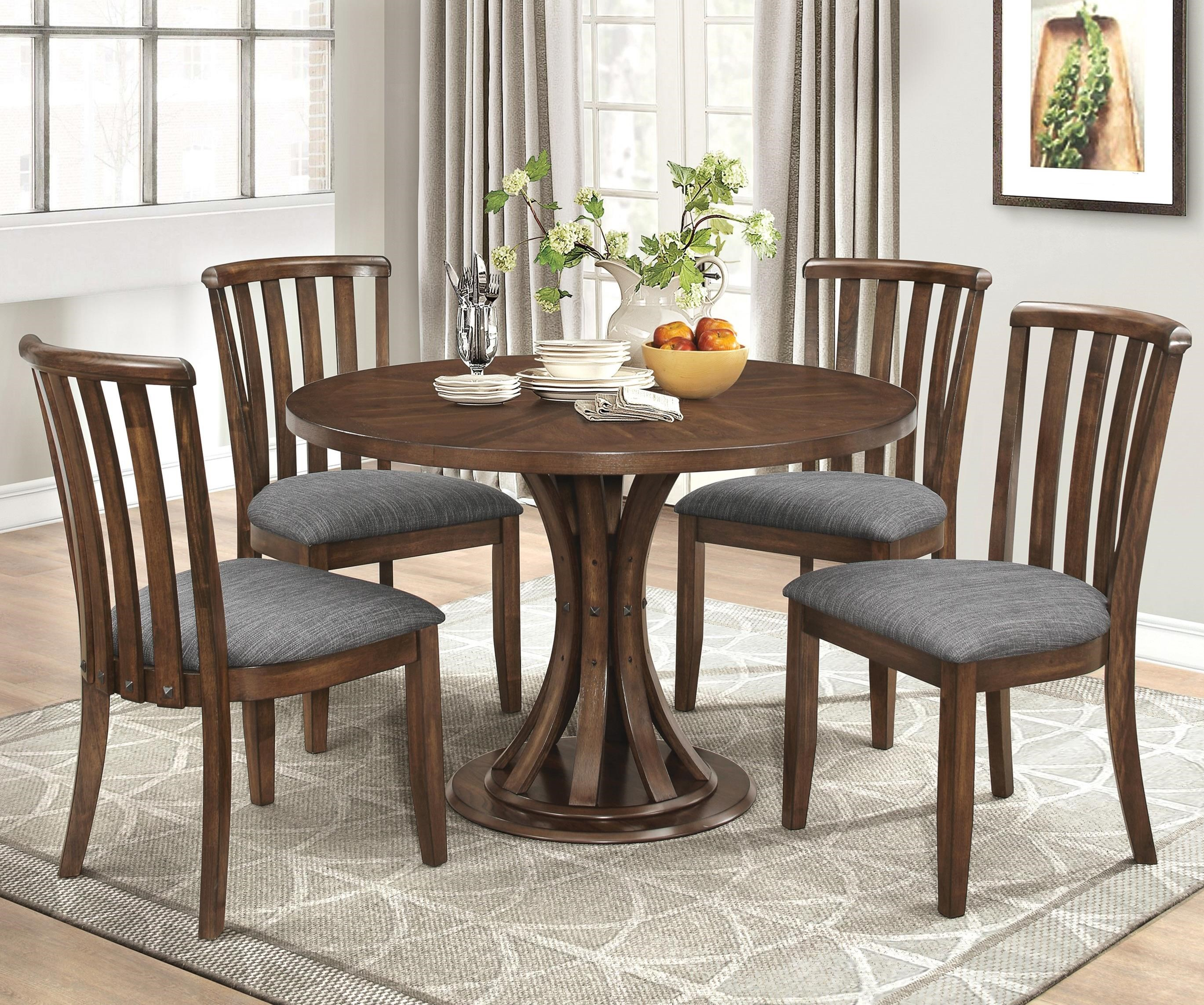 Coaster Prescott Five Piece Casual Dining Set