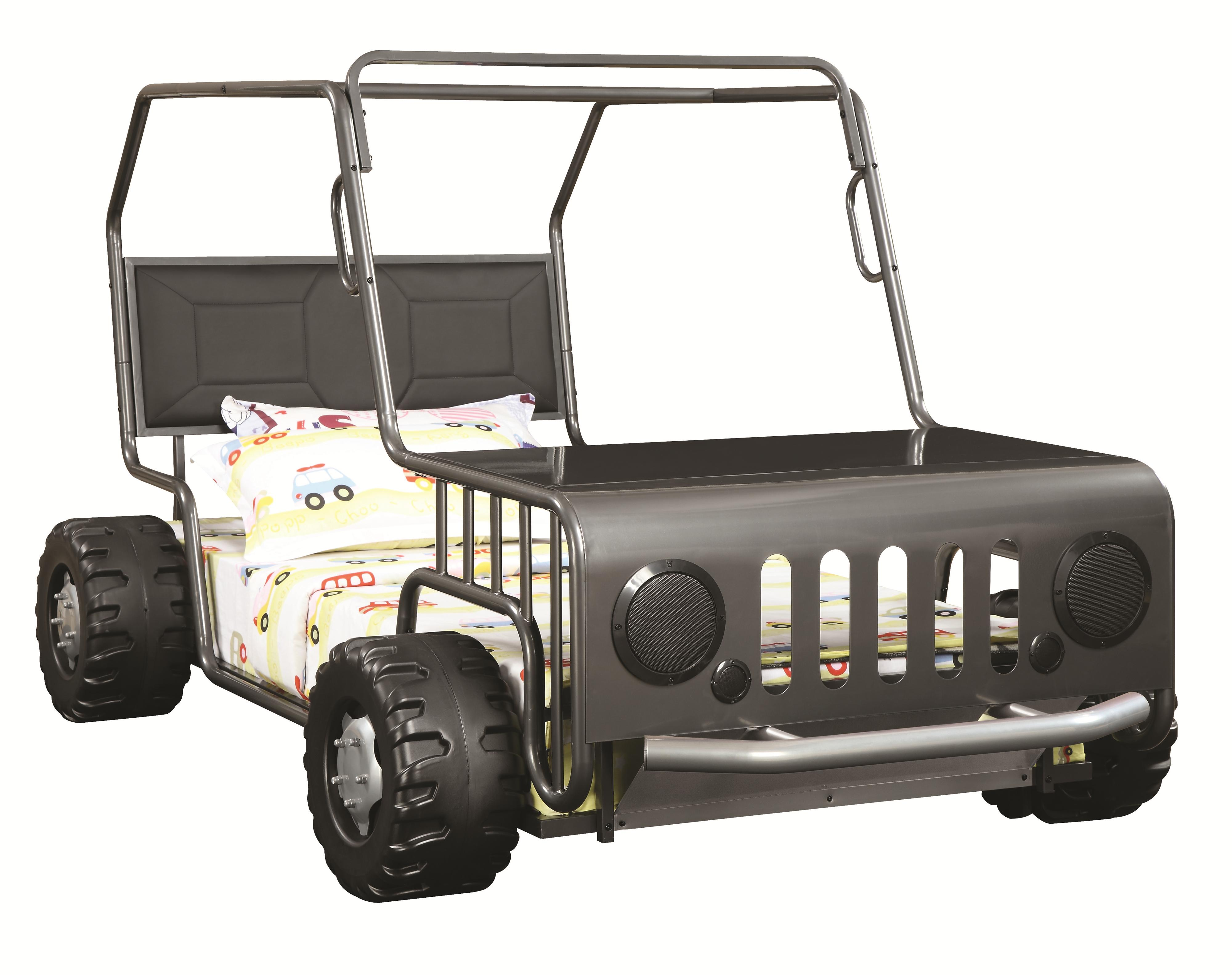 Coaster Novelty Beds Jeep Twin Bed - Item Number: 400371