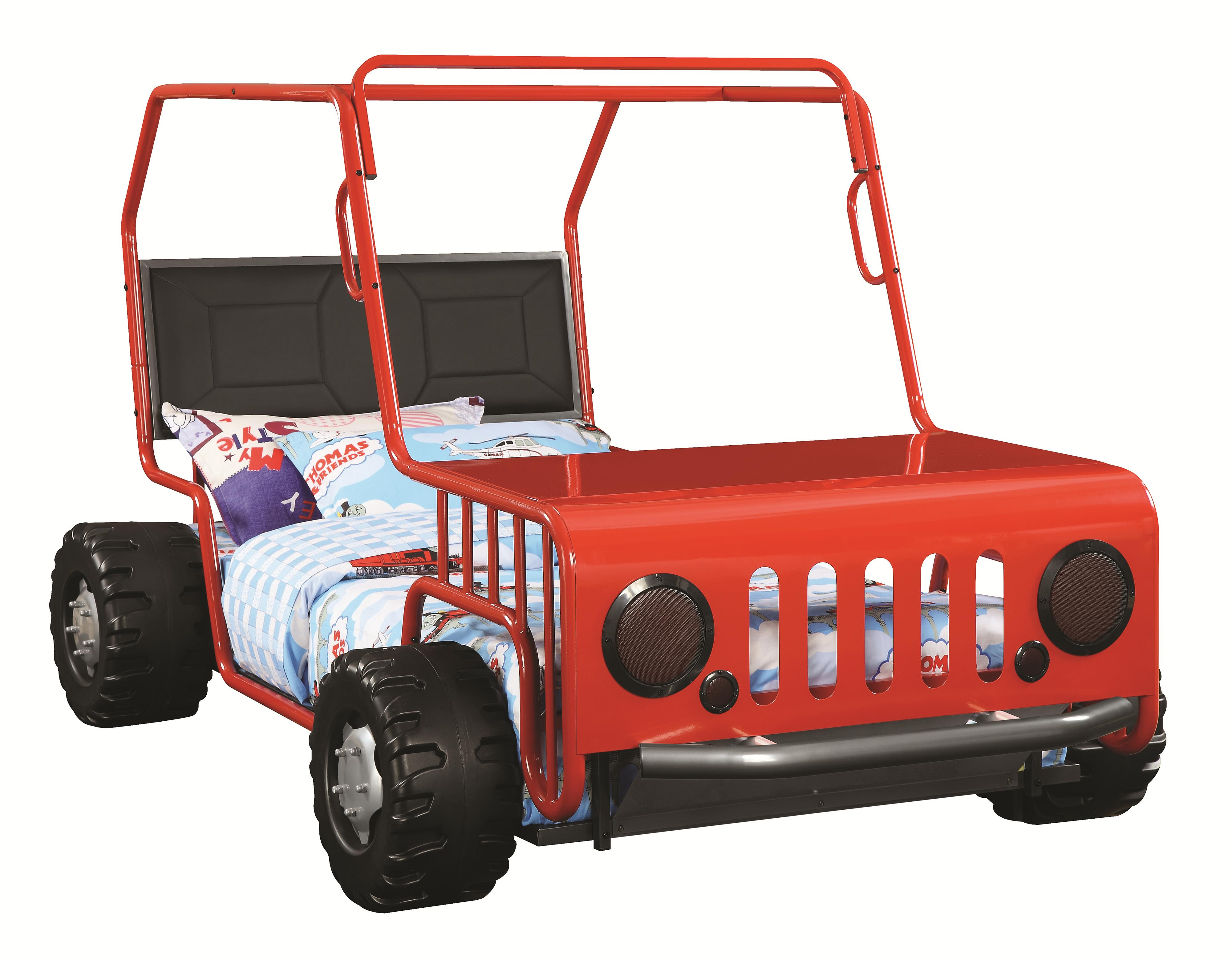 Coaster Novelty Beds Jeep Twin Bed - Item Number: 400372