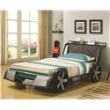 Coaster Novelty Beds Race Car Twin Bed - Item Number: 400701