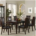 Coaster Ramona Formal Rectangular Table w/ Arm and Side Chairs - 101631+2x33+4x32