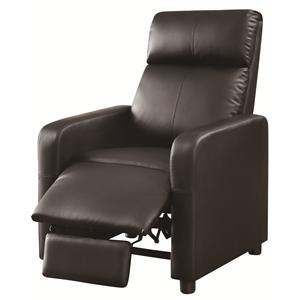 Coaster Recliners Push-Back Recliner