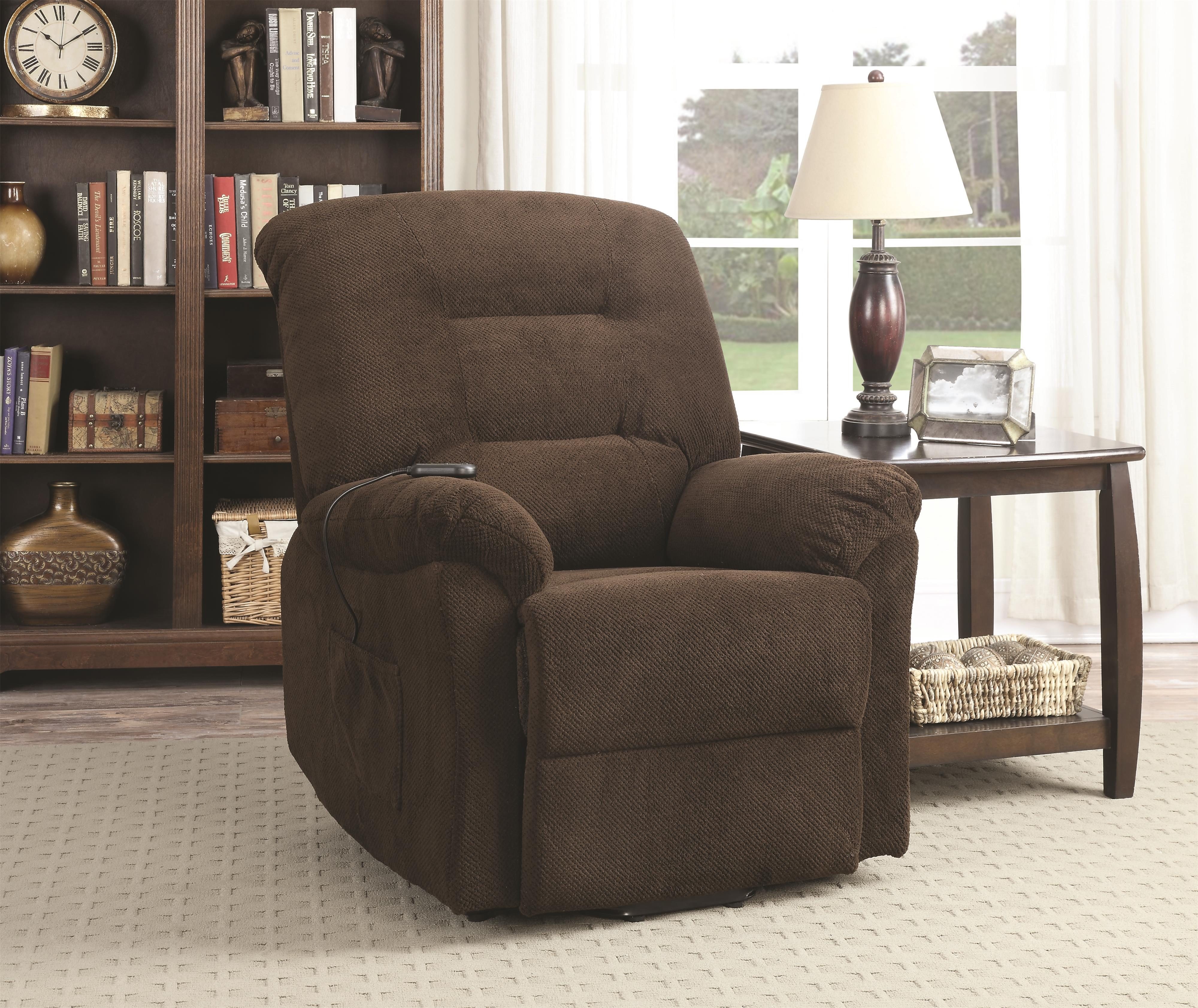 Coaster Recliners Power Lift Recliner - Item Number: 600397