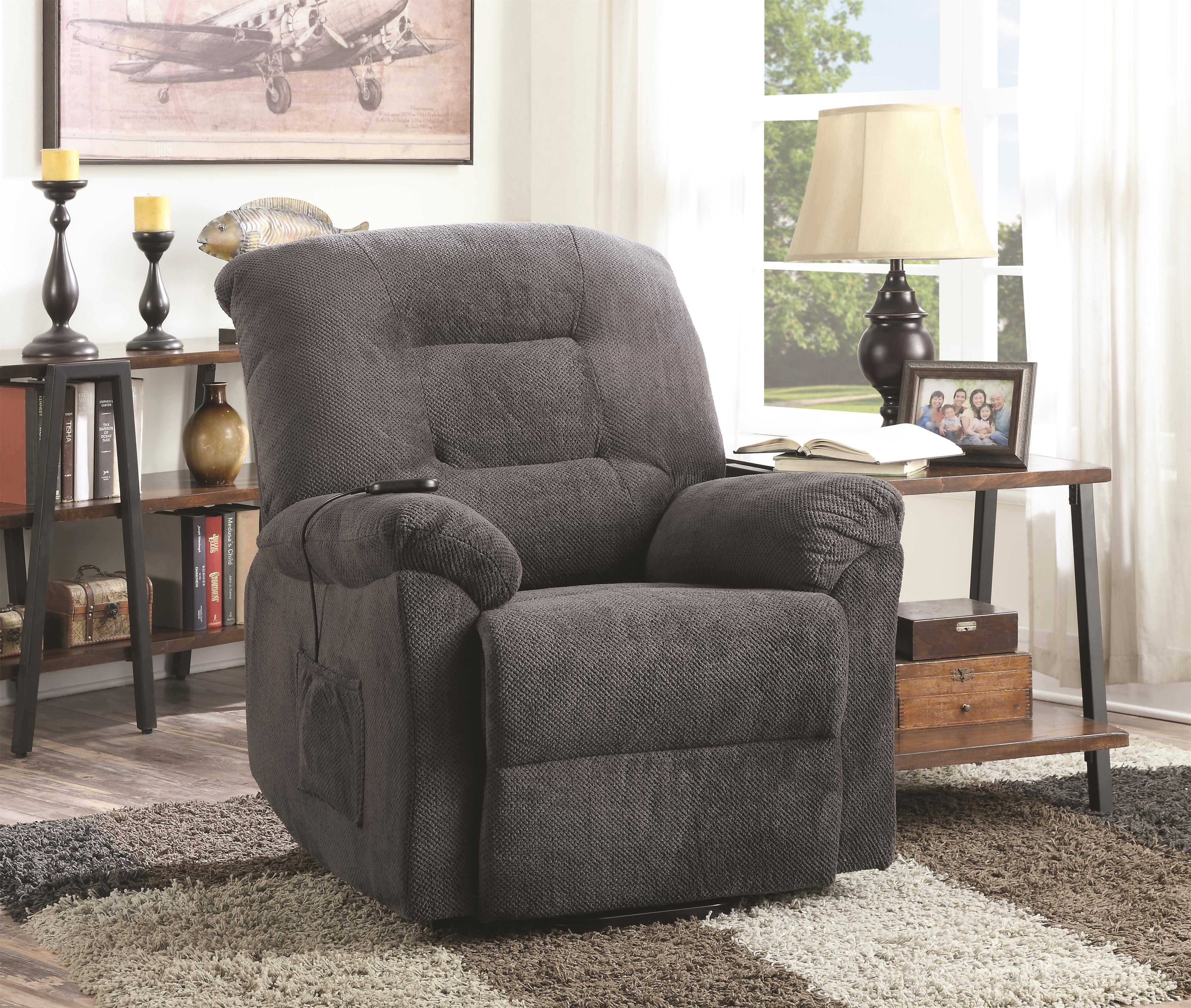 Coaster Recliners Power Lift Recliner - Item Number: 600398