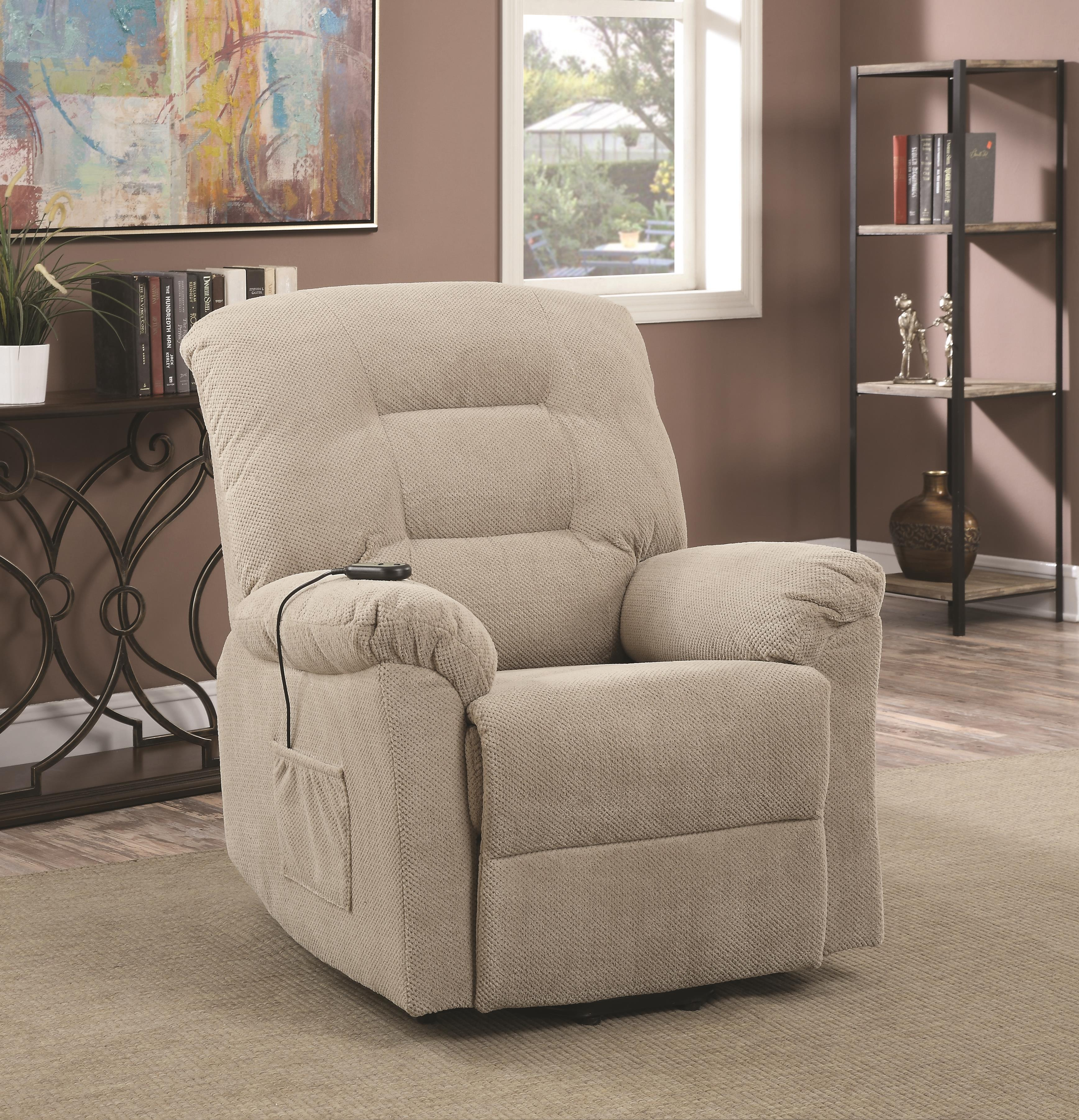 Coaster Recliners Power Lift Recliner - Item Number: 600399