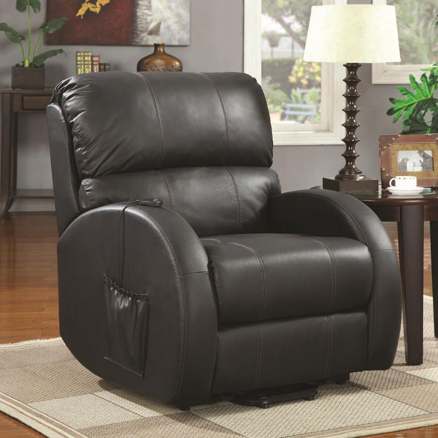 Coaster Recliners Power Lift Recliner - Item Number: 600416