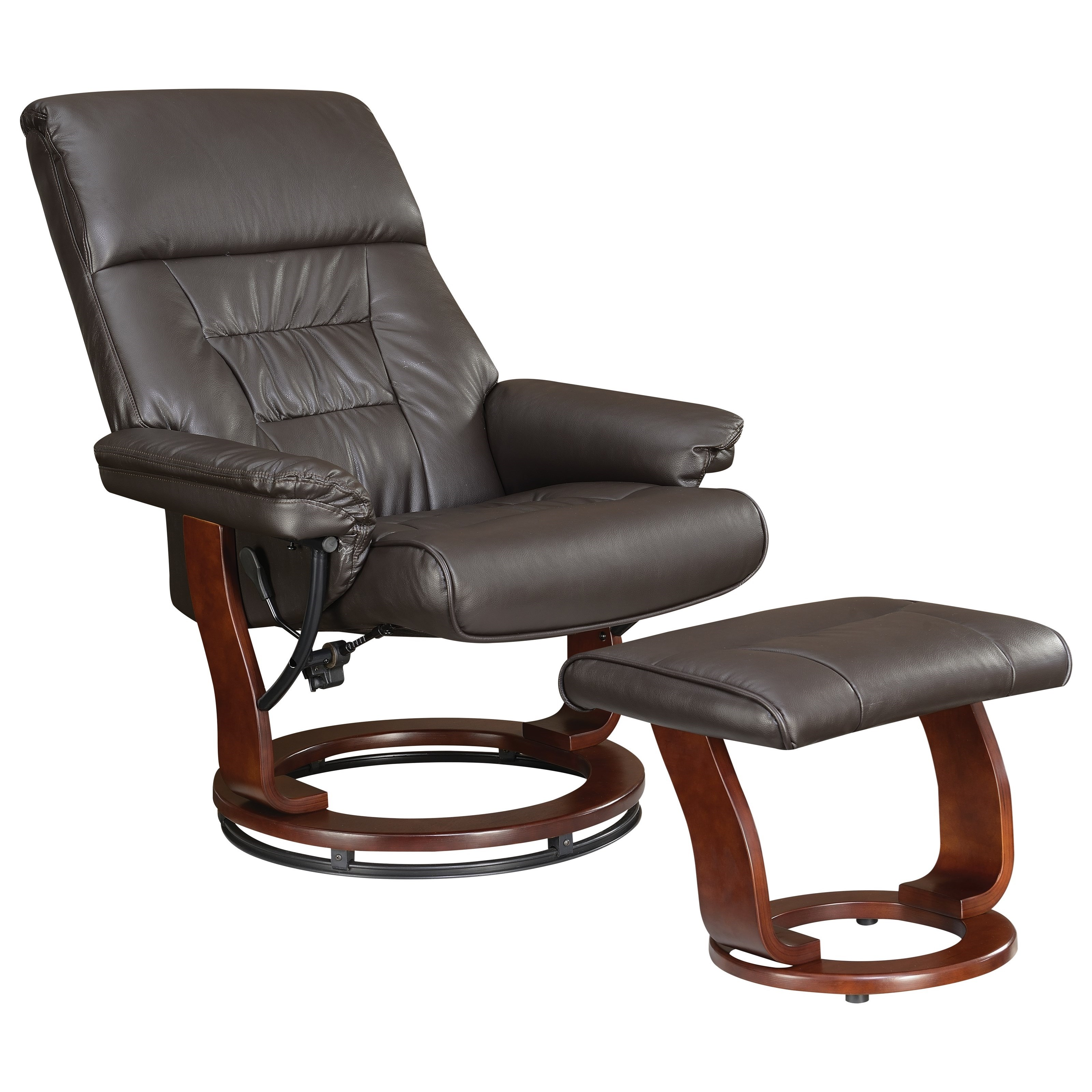 Coaster Recliners with Ottomans Chair and Ottoman - Item Number: 600084