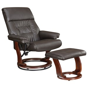 Coaster Recliners with Ottomans Chair and Ottoman