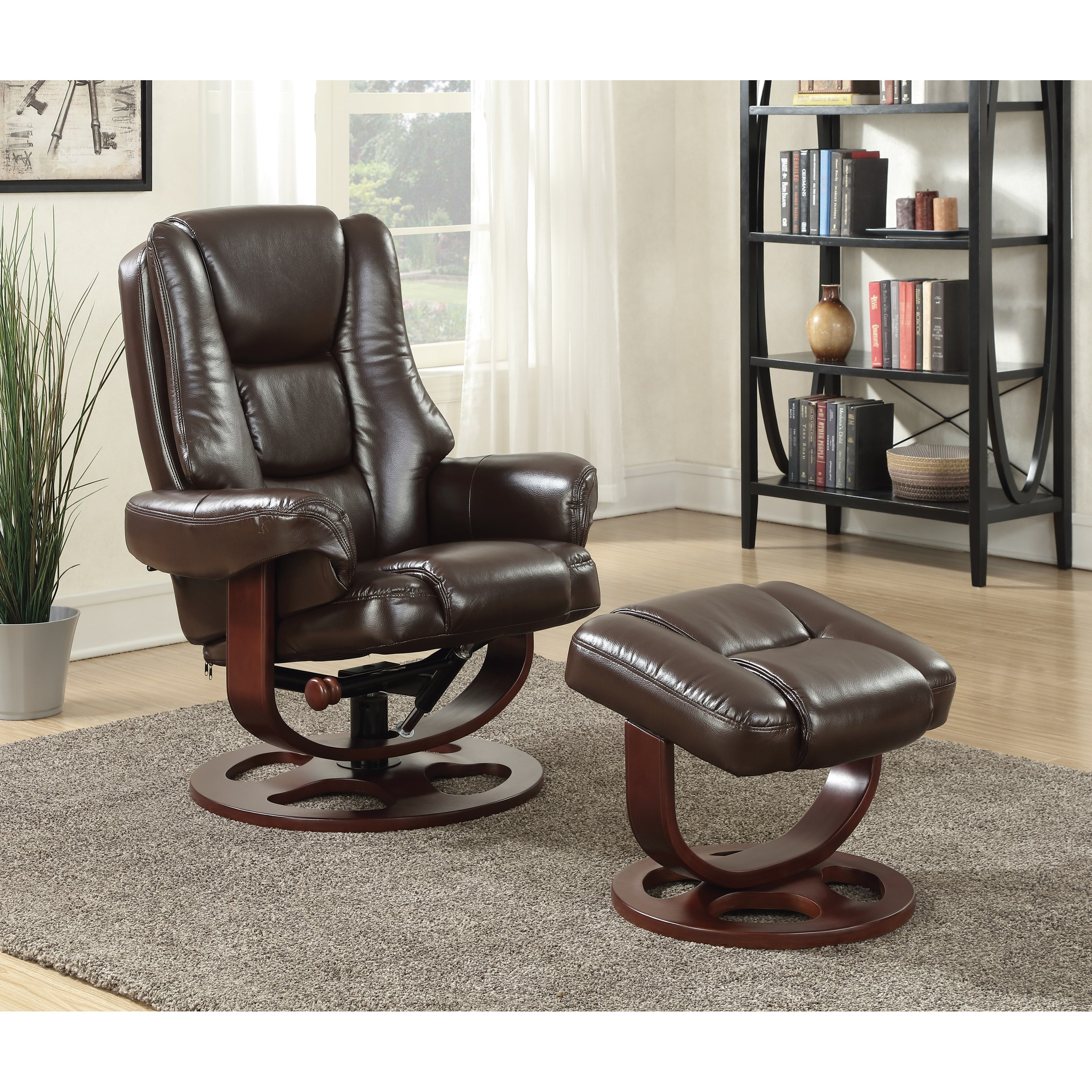 Coaster Recliners With Ottomans Plush Recliner And Ottoman Prime Brothers Furniture