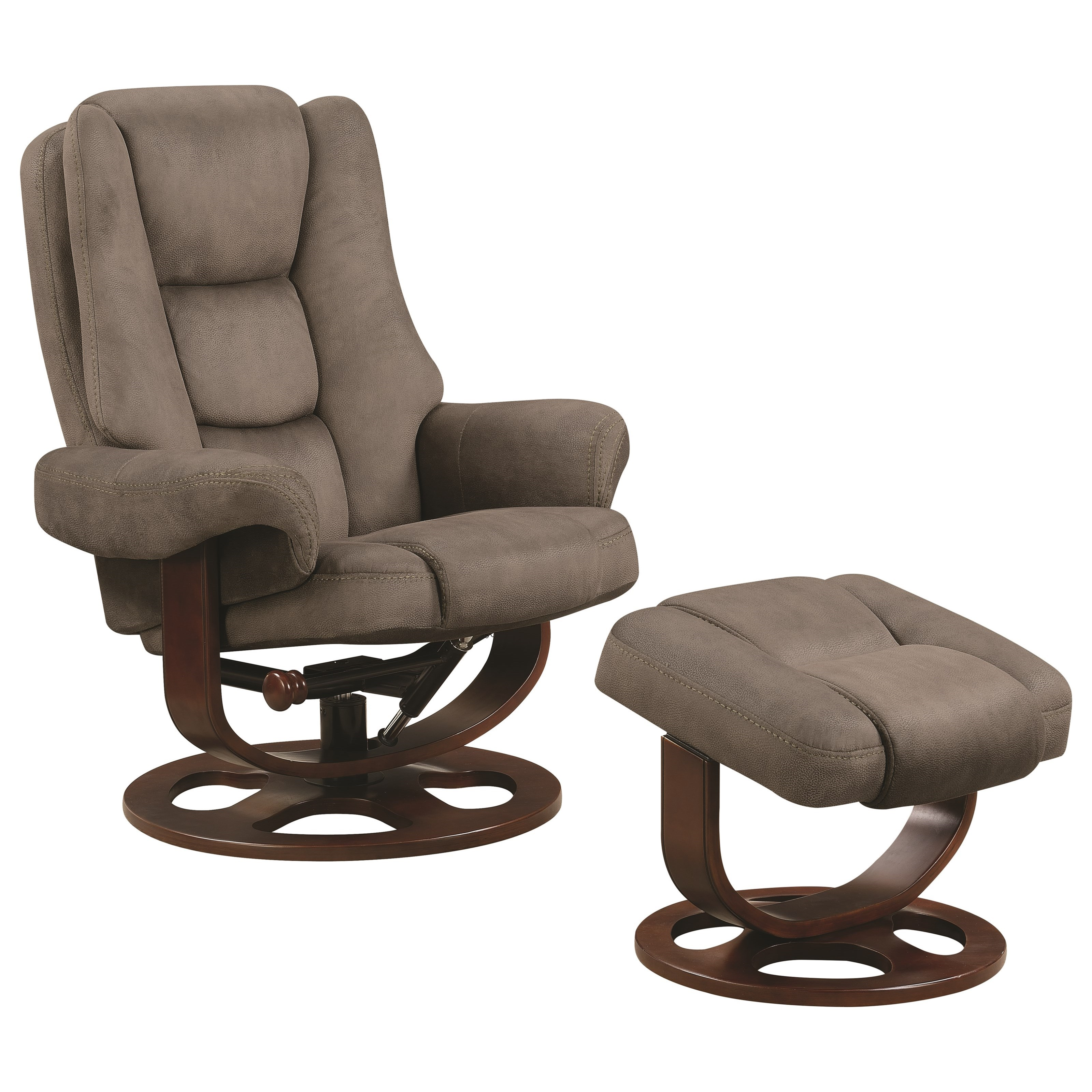 Coaster Recliners With Ottomans Chair With Ottoman   Item Number: 600096