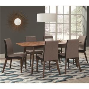 Coaster Redbridge 7 Piece Table & Chair Set