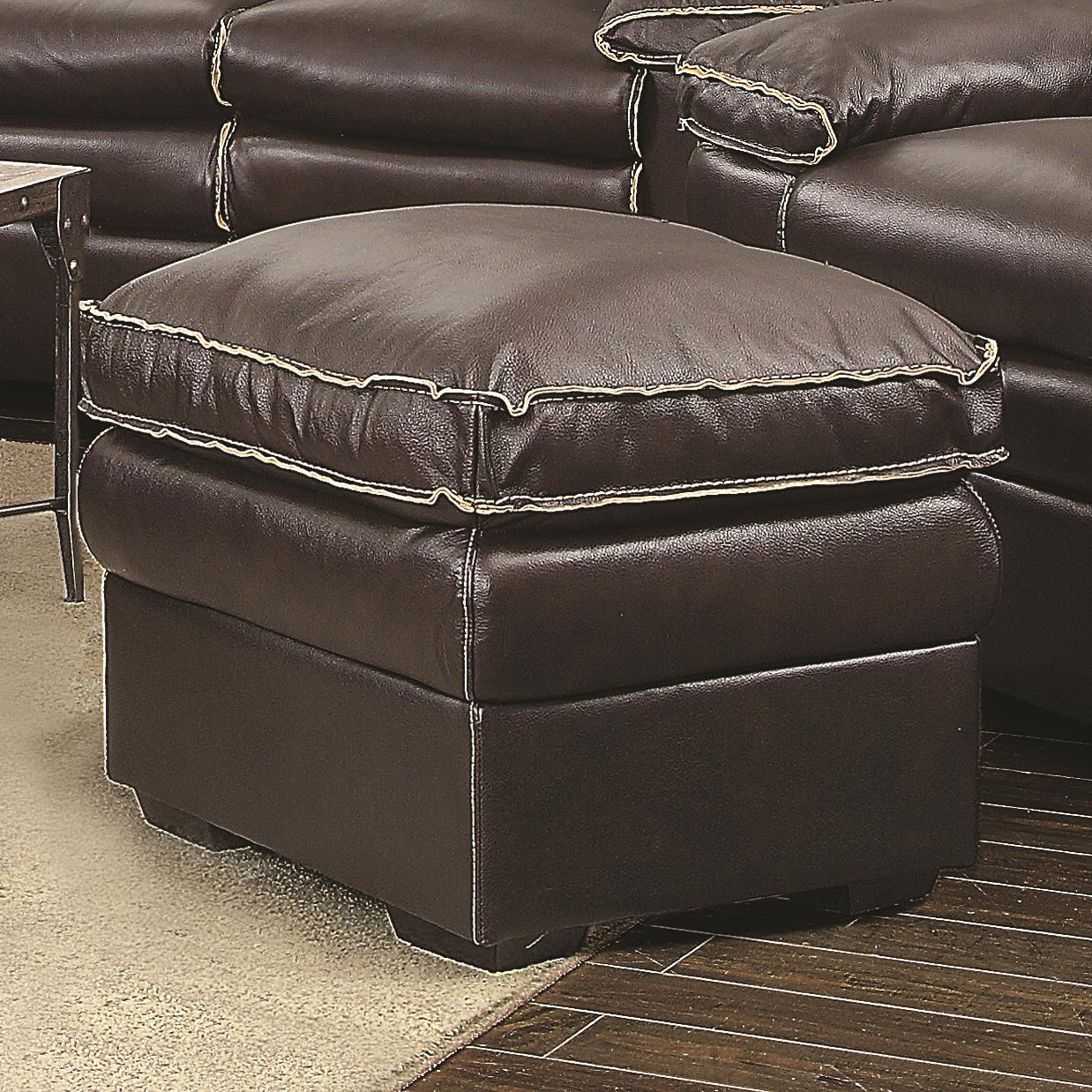 Coaster Regalvale Ottoman - Item Number: 505848