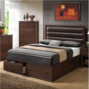 Coaster Remington Queen Bed