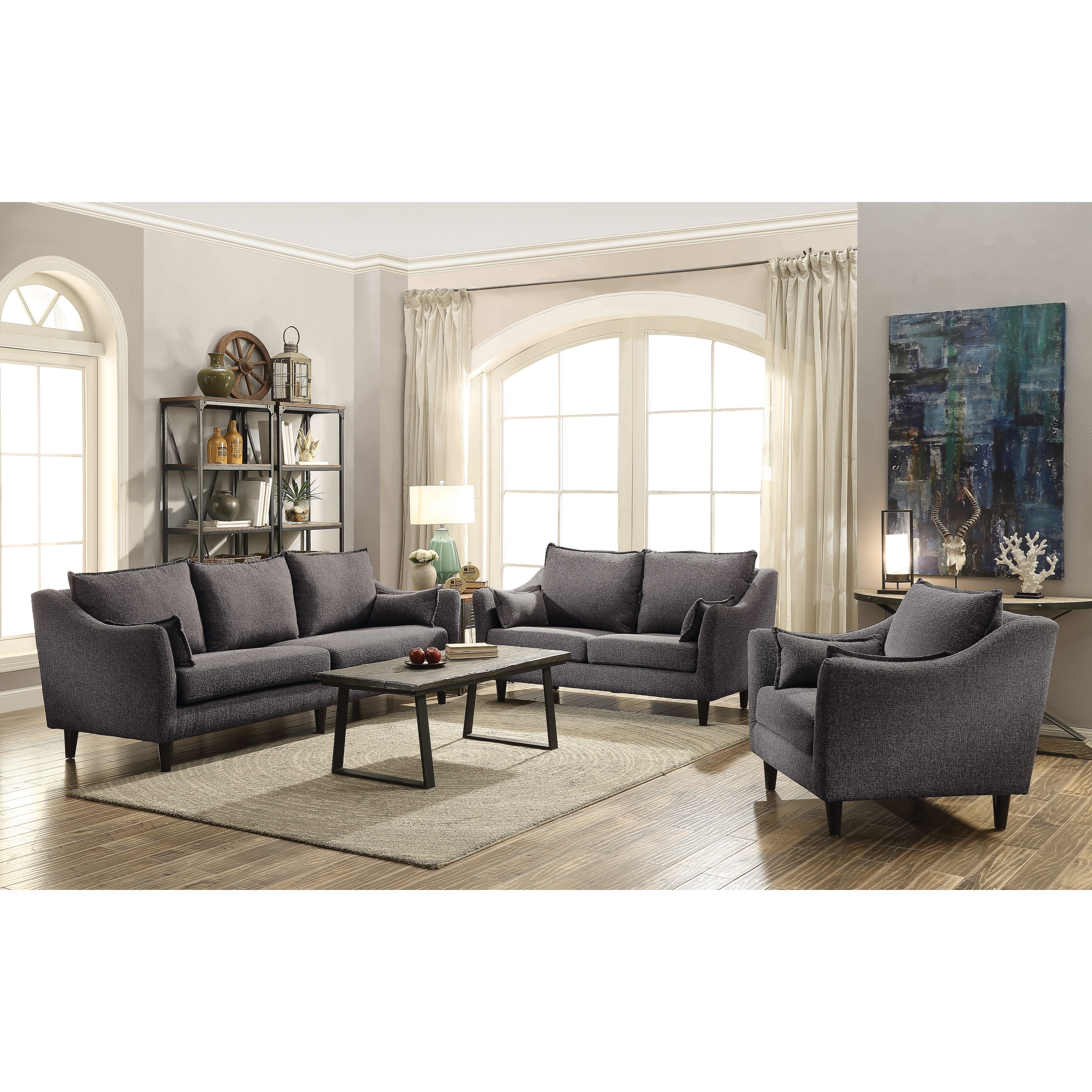 Coaster Rhys Stationary Living Room Group Value City Furniture Stationary Living Room Groups