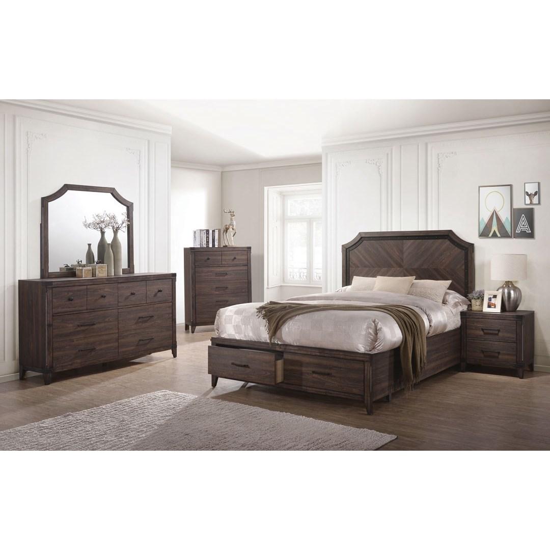 Coaster Richmond Queen Bedroom Group - Item Number: 20571 Queen Bedroom Group 1